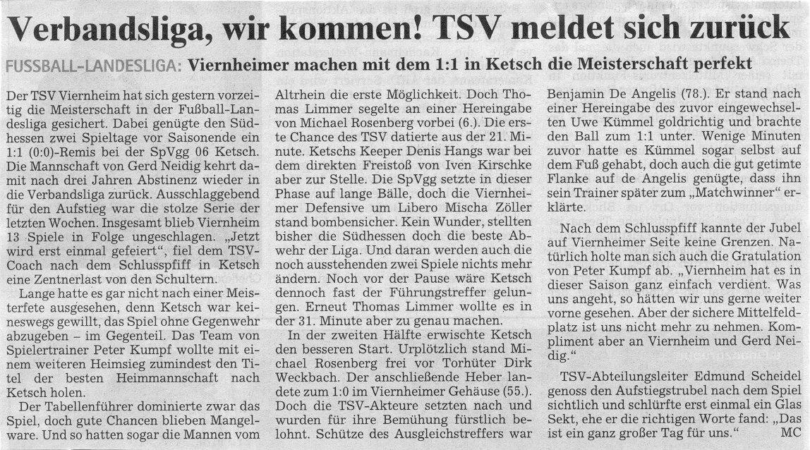 viernheim fussball